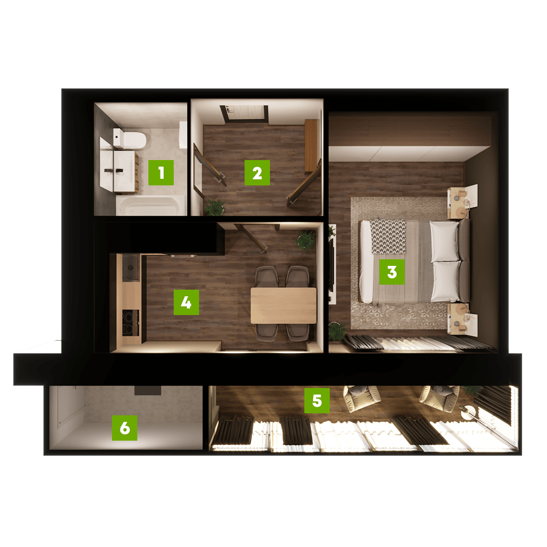 N-Invest-ЖК-Центральний-Квартира-Секція-А-1-кк