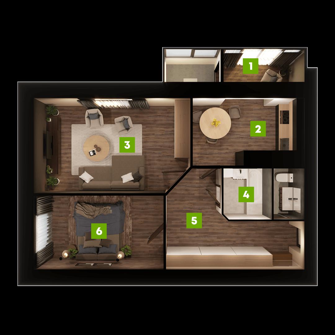 N-Invest-ЖК-Центральний-Квартира-Секція-А-2-кк-вид-1