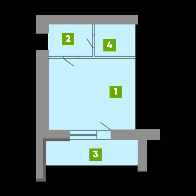 N-Invest-ЖК-Central-House-Квартира-Секція-4-1-кк-вид-2