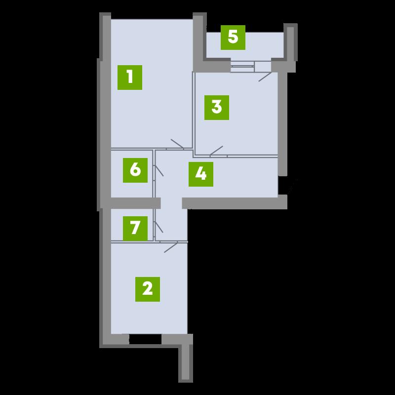 N-Invest-ЖК-Central-House-Квартира-Секція-4-2-кк-вид-1