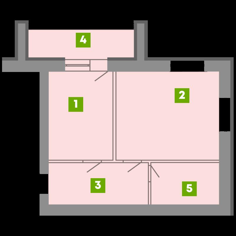 N-Invest-ЖК-Central-House-Квартира-Секція-5-1-кк-вид-1