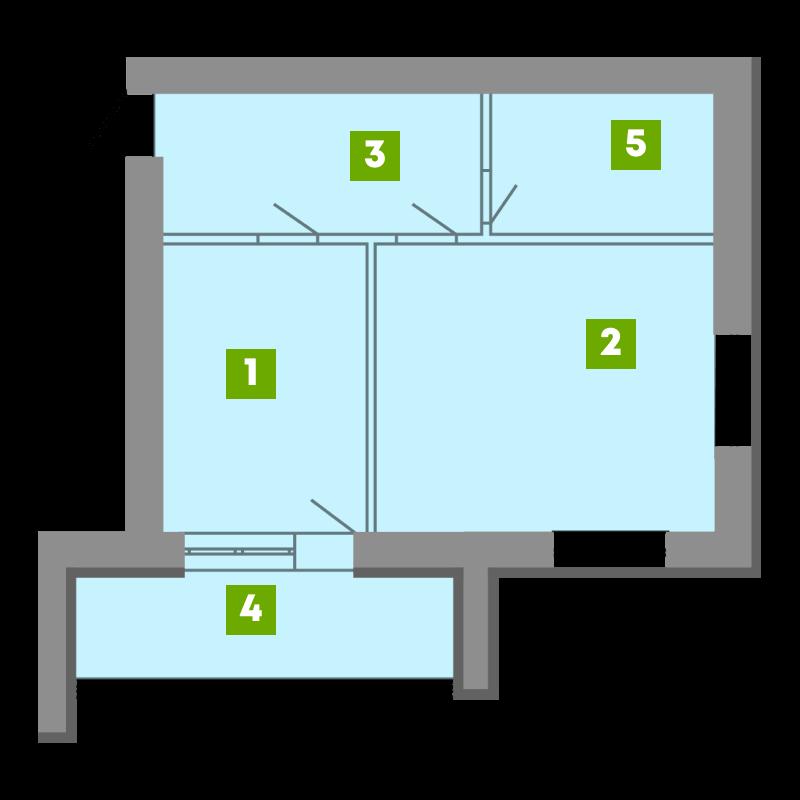 N-Invest-ЖК-Central-House-Квартира-Секція-5-1-кк-вид-2