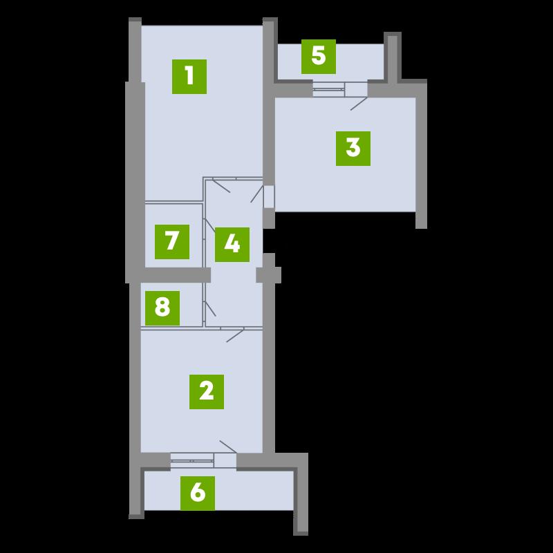 N-Invest-ЖК-Central-House-Квартира-Секція-5-2-кк